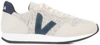 Veja panelled design sneakers