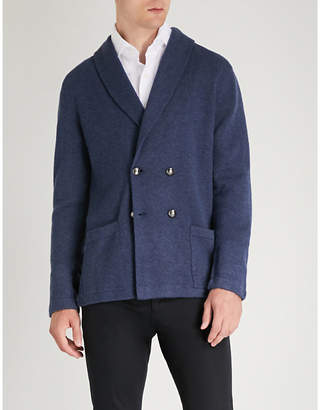 Ralph Lauren Purple Label Shawl-lapel cashmere cardigan