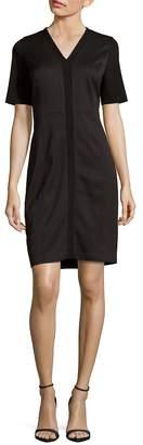 T Tahari Women's Knit Sheath Dress