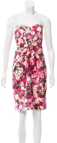 Kate Spade Kate Spade New York Strapless Floral Print Dress w/ Tags