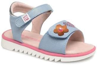 Agatha Ruiz De La Prada Kids's Smile Sandals in Blue