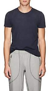 Tomas Maier MEN'S COTTON JERSEY T-SHIRT-NAVY SIZE S
