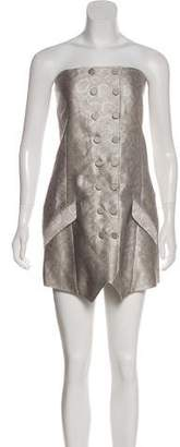 Jenni Kayne Snakeskin Print Mini Dress