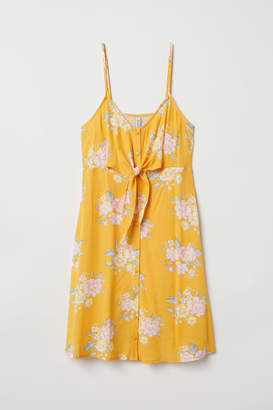 H&M Dress with Buttons - Yellow