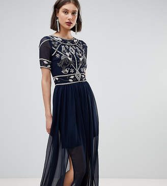 Frock and Frill Frock And Frill Embellished Top Maxi Dress
