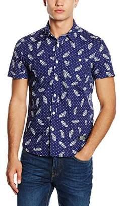 Schott NYC Men's Sopths Casual Shirt,Small