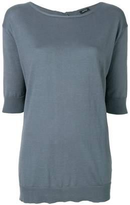 Aspesi cropped sleeves jumper