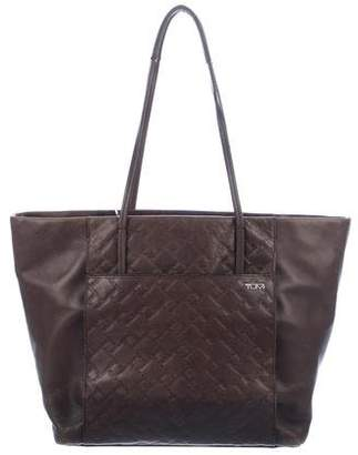 Tumi Textured Leather Tote