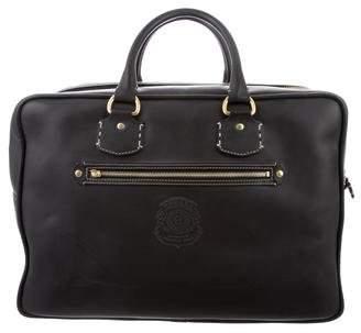 Ghurka Leather Weekender Bag