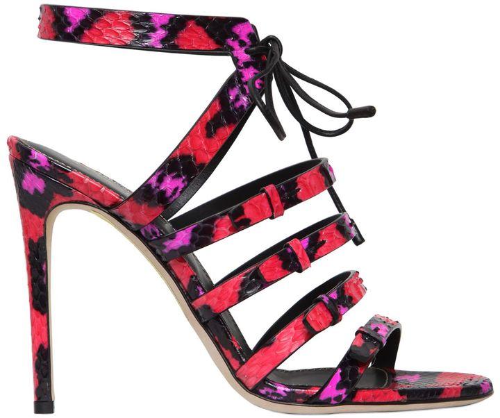 105mm Zoe Elaphe Sandals