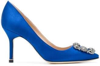 manolo blahnik blue women s shoes shopstyle rh shopstyle com