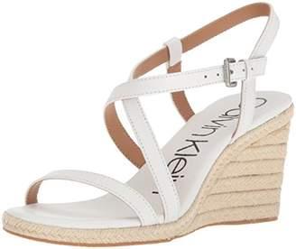 Calvin Klein Women's Bellemine Espadrille Wedge Sandal
