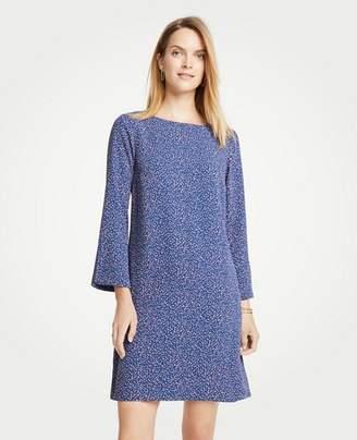 Ann Taylor Confetti Slit Sleeve Dress
