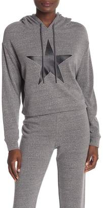 Andrew Marc Double Stripe Accent Hoodie