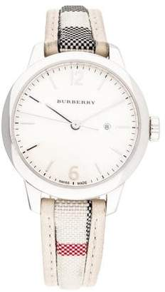 Burberry The Classic Round Watch