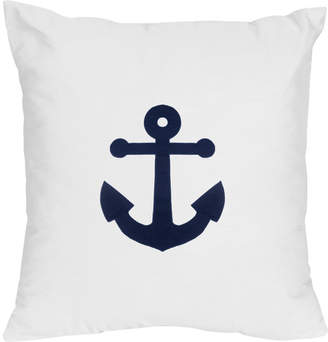 JoJo Designs Sweet Anchors Away Decorative Accent Cotton Throw Pillow