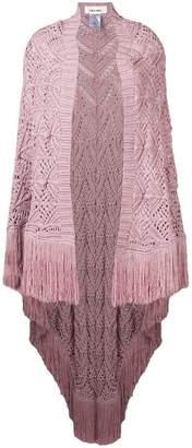 Circus Hotel fringed crochet shawl