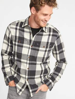 Old Navy Regular-Fit Heavyweight Twill Shirt for Men