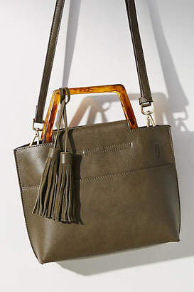 Anthropologie Janie Lucite-Handled Tote Bag