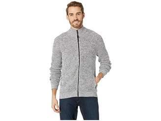 Kenneth Cole New York Long Sleeve Zip Mock Neck Sweater Men's Sweater