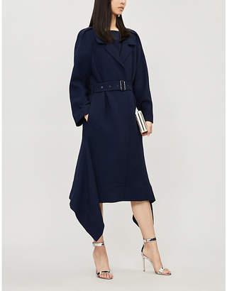 Roland Mouret Victor asymmetric wool coat