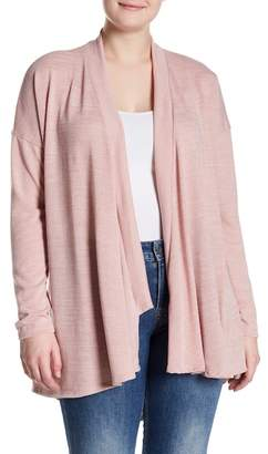 Susina Open Knit Cardigan (Plus Size)