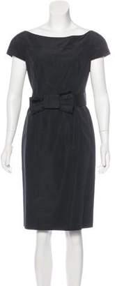 Valentino Belted Sheath Dress