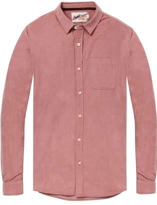 Scotch & Soda Corduroy Chest Pocket Shirt Regular fit