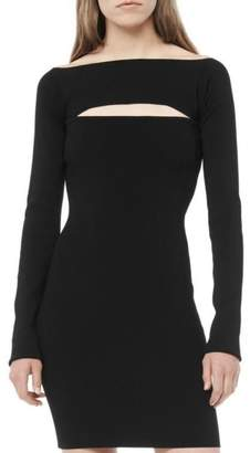 Alexander Wang Long Sleeve Bandeau Dress