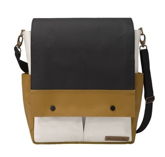 Petunia Pickle Bottom Pathway Pack Diaper Backpack and Cross-Body Bag Caramel, Black