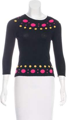 Milly Intarsia Knit Sweater