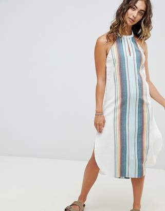 Rip Curl Beach Stripe Midi Dress