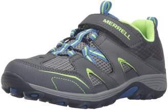 Merrell Boy's Ml-Boys Trail Chaser Shoes, Grey/Blue/Citron