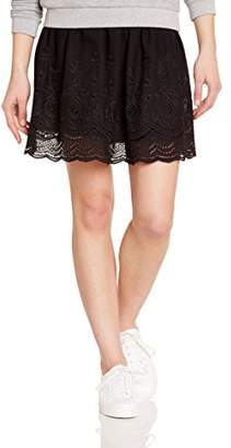 Red Soul Redsoul Women's Plain unicolor Skirt - Black - Noir ()