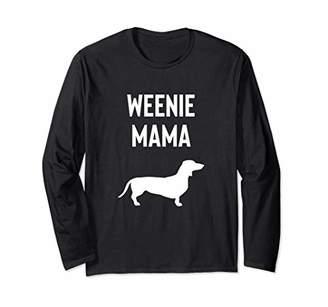 ebddec46e Dachshund Mom Weiner dog Women gift Long Sleeve T-Shirt