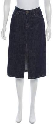 Gucci Denim Knee-Length Skirt