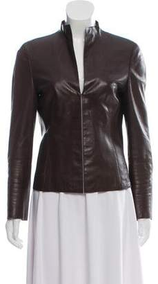 Akris Lamb Leather Jacket