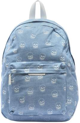 Stella McCartney Skulls Printed Chambray Backpack