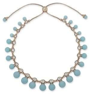 Jenny Packham Crystal-Embellished Frontal Necklace