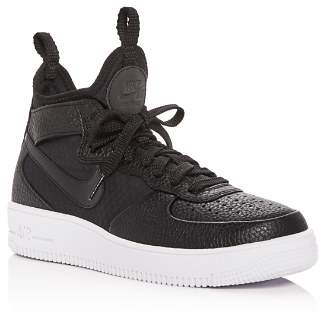 2e52135e4ce Nike Women s Air Force 1 Ultraforce Leather Mid Top Sneakers