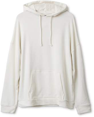 Urban Collective Jersey Hoodie White