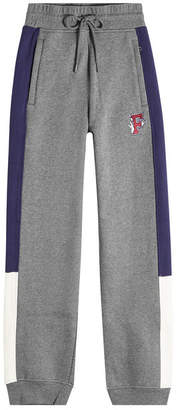 FENTY PUMA by Rihanna High-Waist Cotton Sweatpants with Appliqué