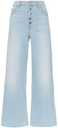 Eve Denim charlotte flared leg jeans
