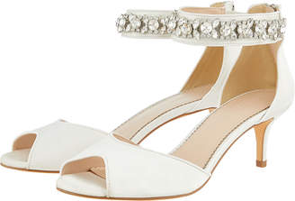 Monsoon Elsa Embellished Bridal Kitten Heels