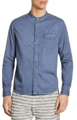 Madison Supply Striped Button-Down Shirt