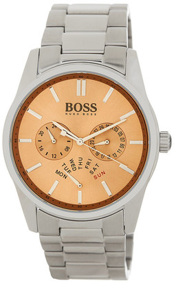 HUGO BOSS Men's Heritage Bracelet Watch $350 thestylecure.com
