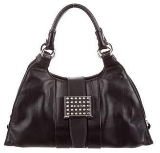 Tod's Studded Leather Handle Bag