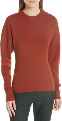 Jason Wu GREY Snap Shoulder Sweater