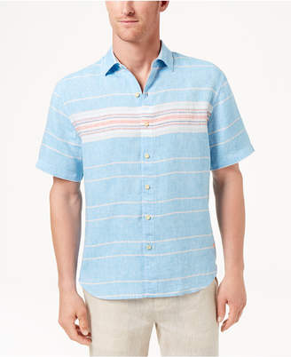 Tommy Bahama Men's Serape Striped Linen Shirt