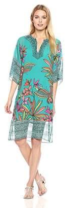 Trina Turk Women's Joceline Papillion Palm Print Dress